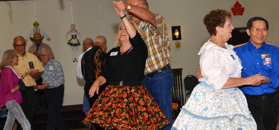 Square Dance Night by John Ward